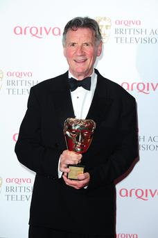 Michael Palin with the Fellowship Award at the 2013 Arqiva British Academy Television Awards at the Royal Festival Hall, London.