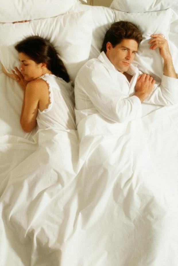 The main reason cited for sleeping separately was stress,