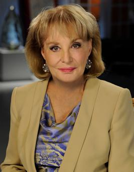 Journalist Barbara Walters