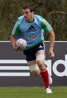 Lion's skipper Sam Warburton