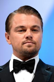 CANNES, FRANCE - MAY 15: Leonardo DiCaprio appears on stage during the Opening Ceremony of the 66th Annual Cannes Film Festival at the Palais des Festivals