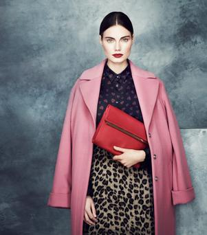 Marks and Spencer - the much talked about €115 pink coat due into stores in August.