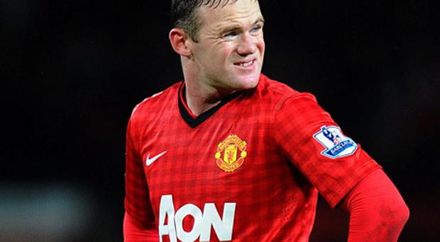 Manchester United's Wayne Rooney Picture: Martin Rickett/PA Wire.