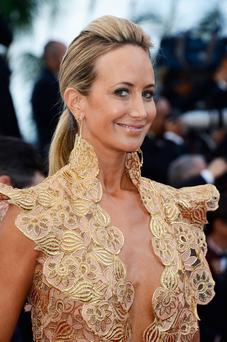 Lady Victoria Hervey - accused of hogging the red carpet