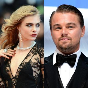 Cara Delevingne and Leonardo DiCaprio at the opening night of the Cannes Film Festival Photo: Getty