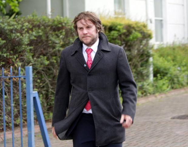 Peter Coonan at court. Photo Garrett White