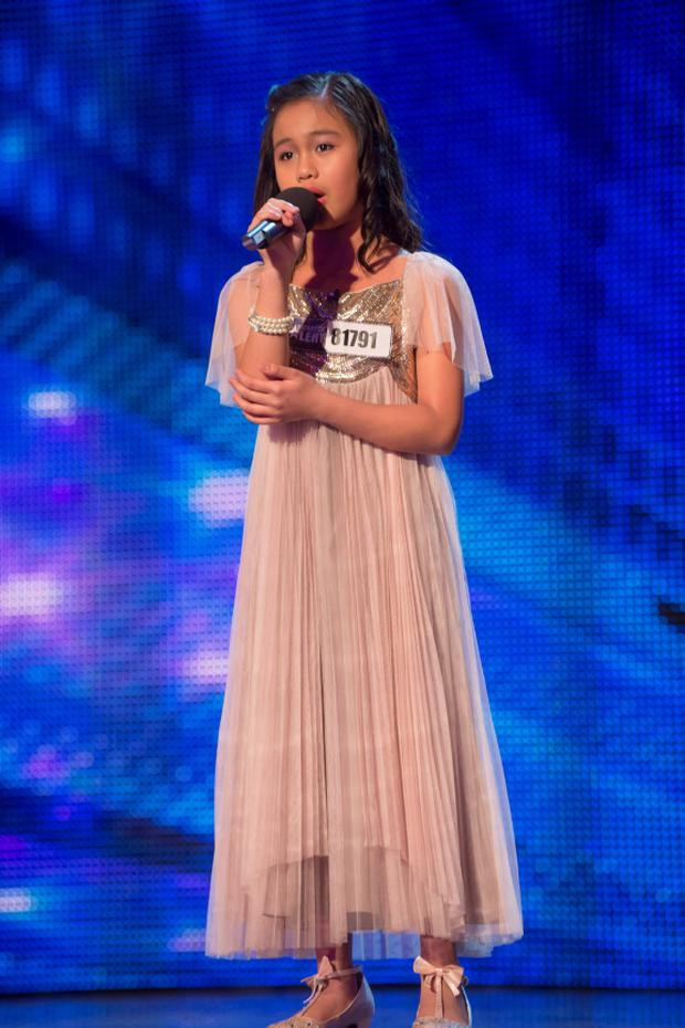 Arisxandra Libantino who has made it through to the final of this year's ITV1 talent show, Britain's Got Talent.