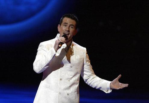 Chris Doran, who won You're a Star, represented Ireland at the Eurovision Song Contest in 2004