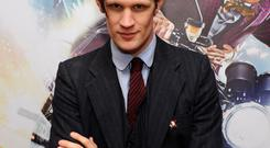 Matt Smith, who is leaving Doctor Who and will bow out in the Christmas special