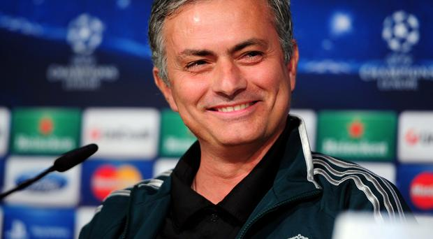 Jose Mourinho pictured earlier this year during his time with Real Madrid