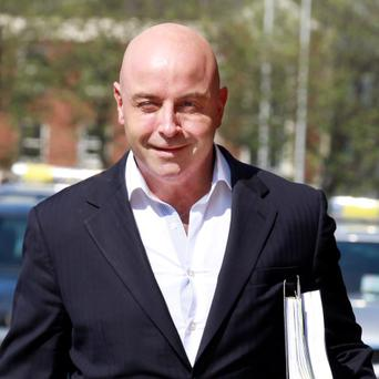 Philip Marley, former property developer, leaving court today. Photo: Collins Courts