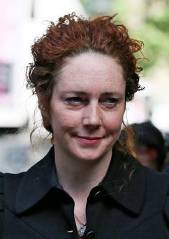 Former News International chief executive Rebekah Brooks arrives at Southwark Crown Court in central London