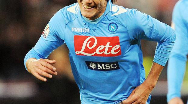 Edinson Cavani of Napoli