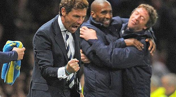 Wanted man: Andre Villas-Boas could replace Carlo Ancelotti at PSG. Photo: Getty Images