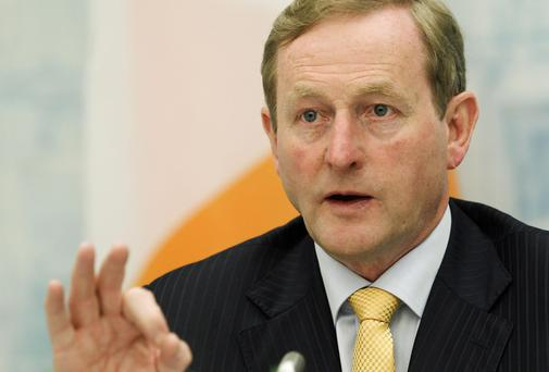 Enda Kenny has defended his decision not to allow a free vote on the abortion Bill