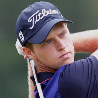 Ireland's Kevin Phelan in action at the US Open this year
