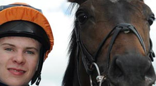 Jockey Joseph O' Brien after riding Magician to victory in the Tattersalls Irish 2, 000 Guineas