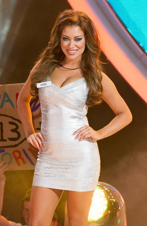 Irish model Hazel O'Sullivan enters the Big Brother house in 2013