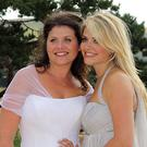 Holly and her sister Kate Willoughby
