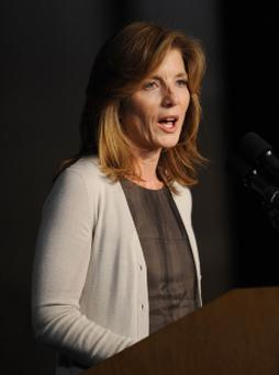 Caroline Kennedy, daughter of former U.S. President John F. Kennedy