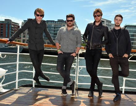Steve Garrigan, Jason Boland, Mark Prendergast and Vinny May (Kodaline)