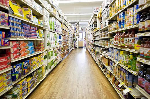 The price of food and non-alcoholic beverages is 18pc more expensive than the European Union