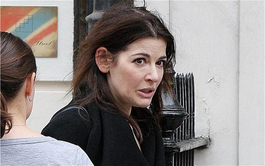 Nigella has been pictured