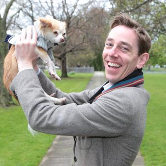 Ryan Tubridy revealed that he witnessed a romp in the cinema when seeing Man of Steel
