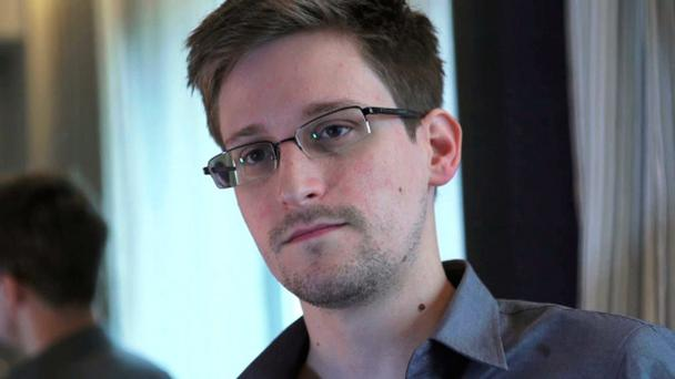 NSA whistleblower Edward Snowden, an analyst with a U.S. defence contractor