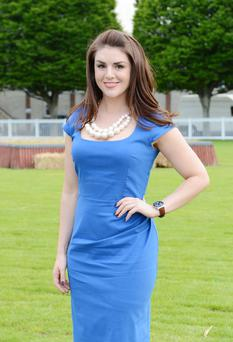 Sile is pictured at the launch of the Dublin Horse Show last week