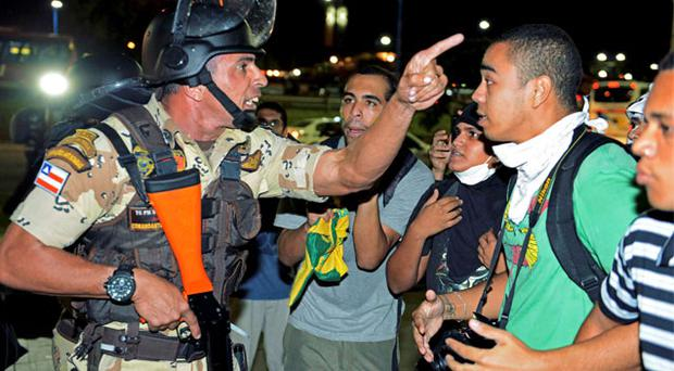 The ongoing Confederations Cup in Brazil has been overshadowed by protests