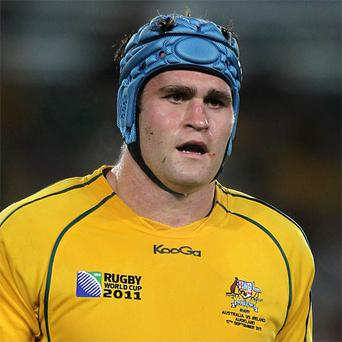 Australia's James Horwill