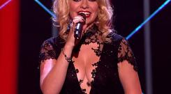 The presenter wore a racy black lace maxi dress which attracted more than 100 complaints about the show