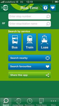 The new national travel app is the only one to integrate all real time updates for all of Ireland.