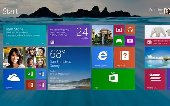 Microsoft's WIndows 8.1 will be a free update for all users