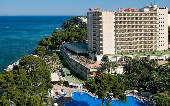 The Sol Antillas Hotel in Magaluf, where a 28-year-old man died last year
