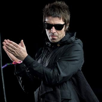 Liam Gallagher of 'Beady Eye' performs live on the Other Stage at day 2 of the 2013 Glastonbury Festival