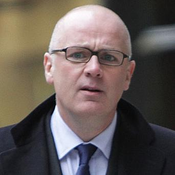 Former Anglo chief executive David Drumm