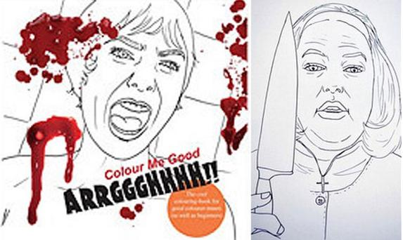 Colour Me Good - Arrggghhhh!! includes images from classic horror films