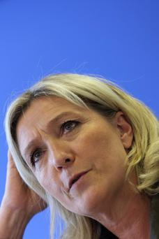 Marine Le Pen, France's National Front political party leader