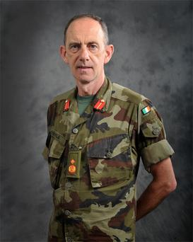 Newly appointed Chief of Staff Major General Conor O'Boyle