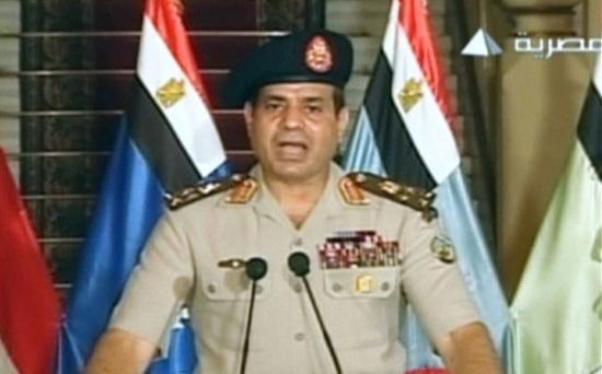 Gen Abdulfattah al-Sisi, made a televised address to the nation accusing Mr Morsi of rejecting calls for national dialogue