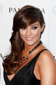 LONDON, ENGLAND - JUNE 04: Frankie Sandford of The Saturdays attends Glamour Women of the Year Awards 2013 at Berkeley Square Gardens on June 4, 2013 in London, England. (Photo by Gareth Cattermole/Getty Images)