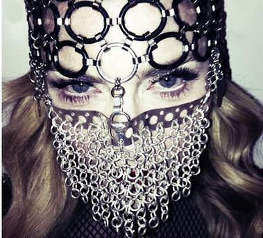 Madonna has been criticised for wearing the chainmail niqab