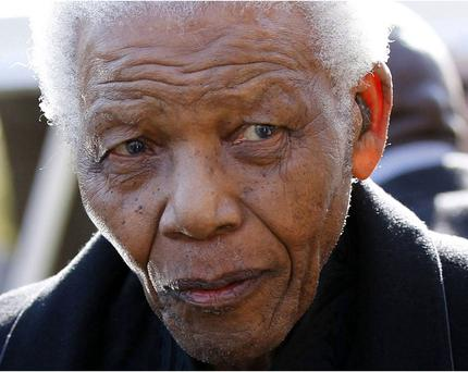 Nelson Mandela is responding to treatment