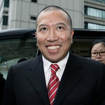Tony Chan at a court appearance in 2009