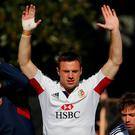 British and Irish Lions player Tommy Bowe