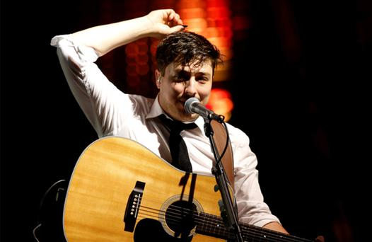 Mumford and Sons are one of the headline acts at the gigs