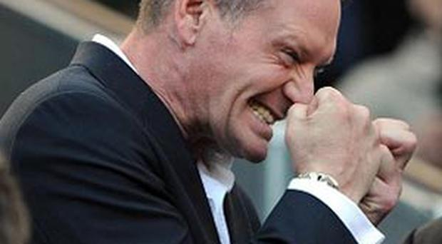 Paul Gascoigne left rehab in the United States earlier this year