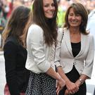 Carole Middleton and Kate